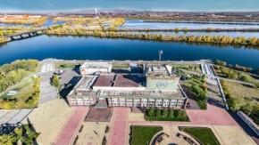 Площадь Орджоникидзе вид с воздуха